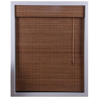 "Ginger Bamboo Roman Shade 54"" Length"