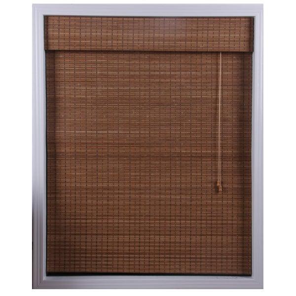 Ginger Bamboo Roman Shade (58 in. x 74 in.)