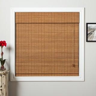 Ginger Bamboo 98-inch Long Roman Shade