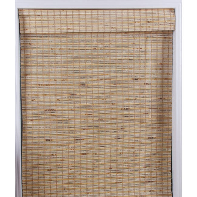 Mandalin Bamboo Roman Shade (22 in. x 74 in.)