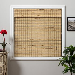Mandalin Bamboo 74-inch Long Roman Shade