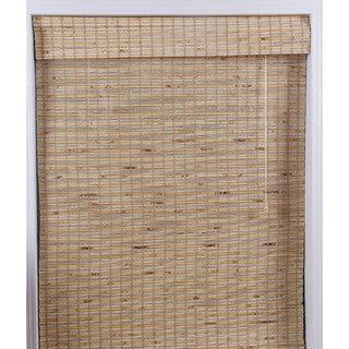 Mandalin Bamboo Roman Shade (35 in. x 74 in.)