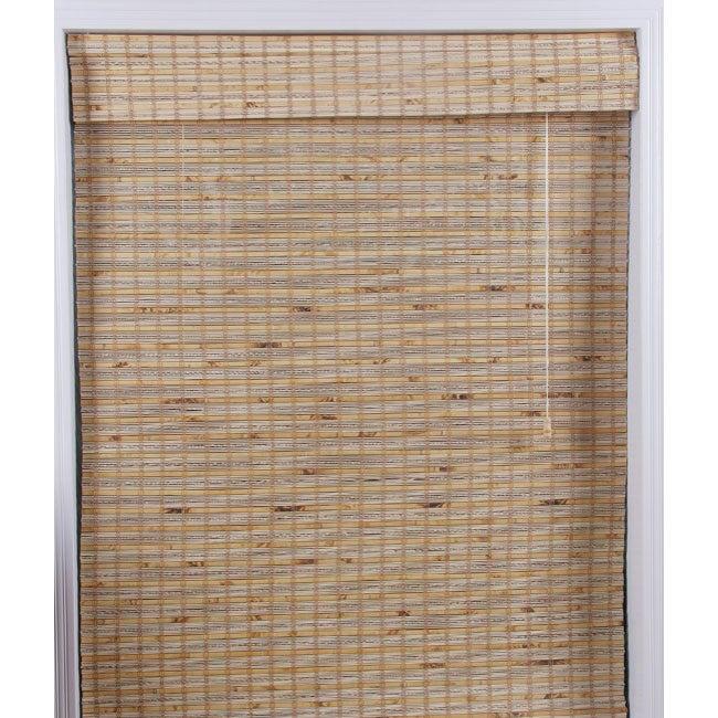 Mandalin Bamboo Roman Shade (70 in. x 74 in.)