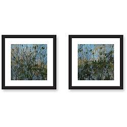 Kim Coulter 'Rhapsody' Framed Art Print Set