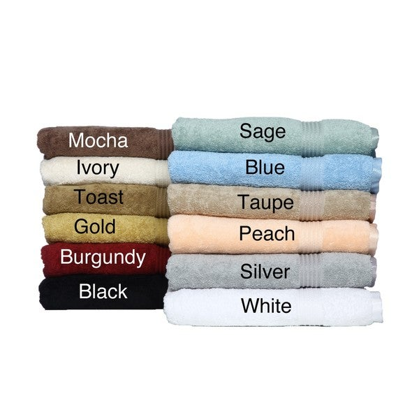 Superior Collection Luxurious Egyptian Cotton Towels 8-PieceTowel Set