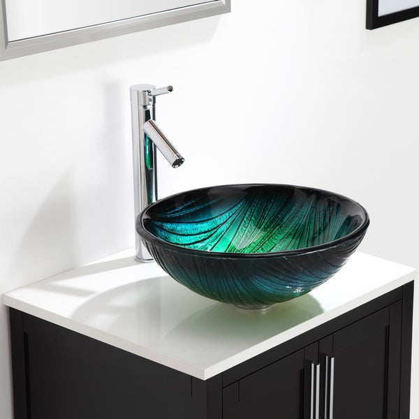 Kraus Sheven Bathroom Vessel Sink Faucet
