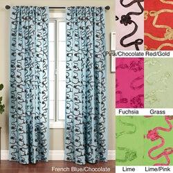 Heaven Rod Pocket 84-inch Curtain Panel