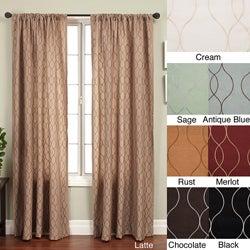 Keeva Rod Pocket 84-inch Curtain Panel