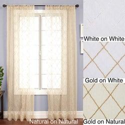 Serafino Rod Pocket 84-inch Panel