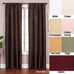 Shire Pintuck Taffeta 120-inch Curtain Panel