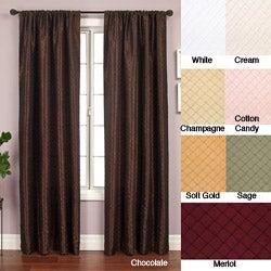 Shire Pintuck Taffeta 96-inch Curtain Panel