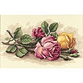 Rose Cuttings Counted Cross Stitch Kit