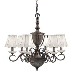 Legacy Bronze 6-light Chandelier