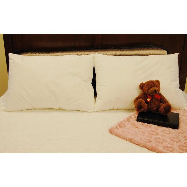 Splendorest Angel Soft 220 TC Cotton Down Alternative Standard-size Pillows (Set of 2)