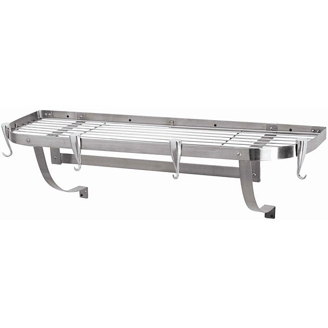 Large Stainless Steel Wall Rack