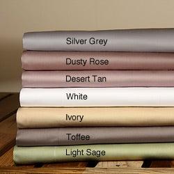 Sateen 600 Thread Count 3-piece Duvet Cover Set