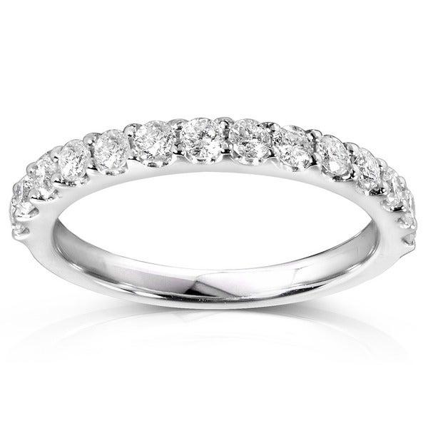 Annello 14k Gold 1/2ct TDW Diamond Wedding Band (G-H, I1-I2)