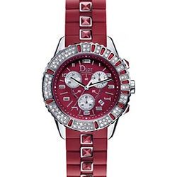 Christian Dior Christal Ruby Red Women's Watch