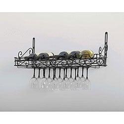 Metal Wine Wall Rack