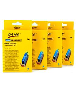 Cyan Ink Cartridge for Canon BCI-3eC (Pack of 4)