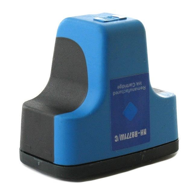 HP 02 Cyan Ink Cartridge (Remanufactured)