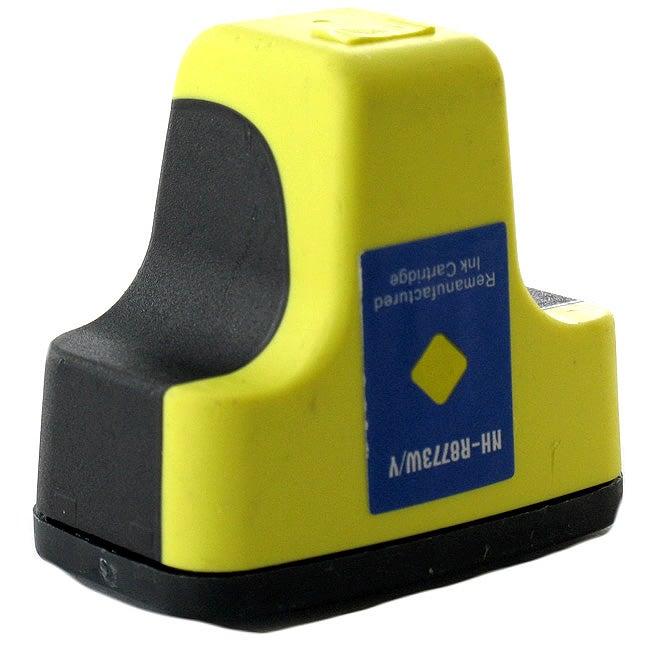 HP 02 Yellow Ink Cartridge (Remanufactured)