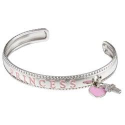 Sterling Essentials Sterling Silver 6-inch Adjustable Princess Child's Bracelet