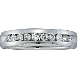 14k Gold Men's 1/2ct TDW Diamond Band (H-I, I1)