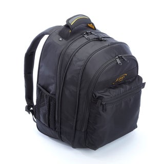 A.Saks Expandable Lightweight Nylon 15.6-inch Laptop Backpack