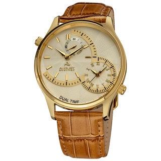August Steiner Dual Time Men's Quartz Watch