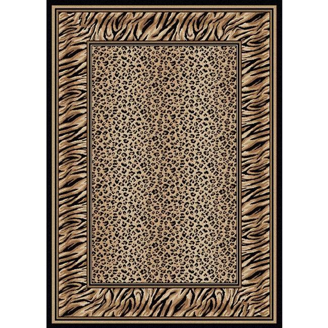 Virginia Leopard Area Rug (3'3 x 4'11)