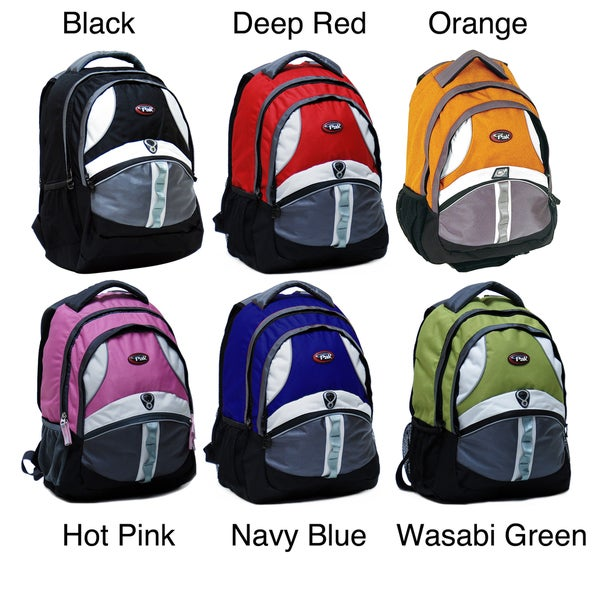 CalPak Gleeson 18-inch Laptop Backpack with Reflective Tape