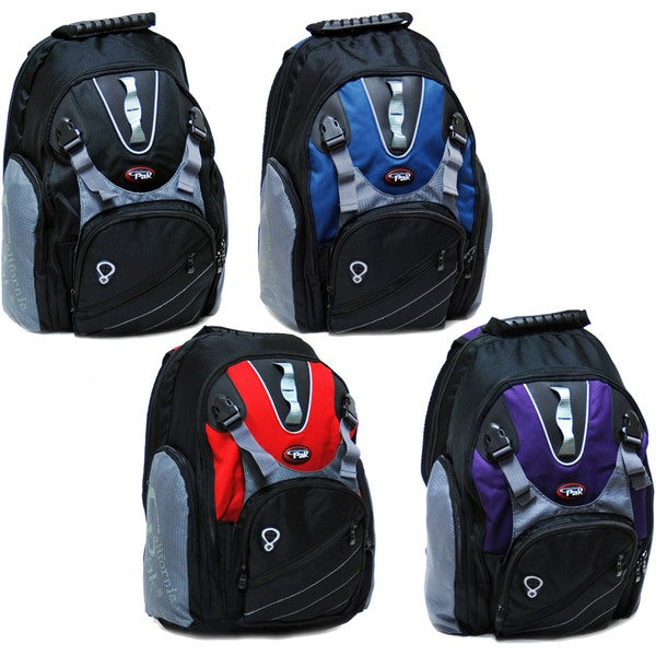 CalPak Spider 18-inch Backpack with Front Buckled Pocket