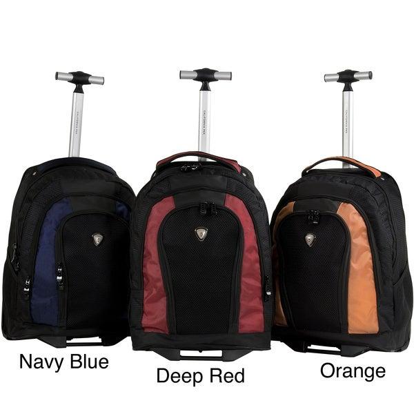 CalPak Element Unisex 18-inch Rolling Lightweight Laptop Backpack