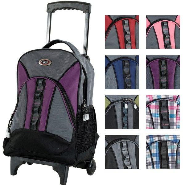 CalPak Grand Stand Unisex 17-inch Lightweight Rolling Sport Backpack