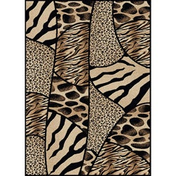 Virginia Animal Print Area Rug (7'9 x 11')