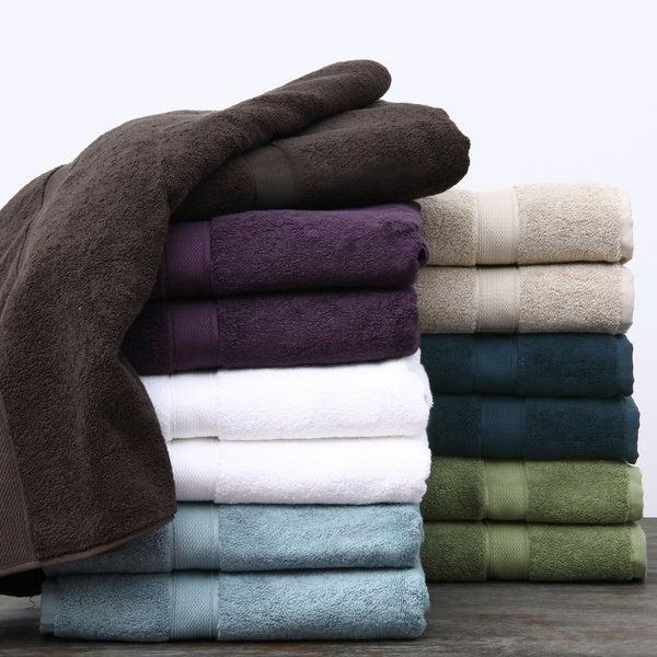 Supreme 800-gram Egyptian Two-Ply Cotton/Terry 6-piece Towel Set