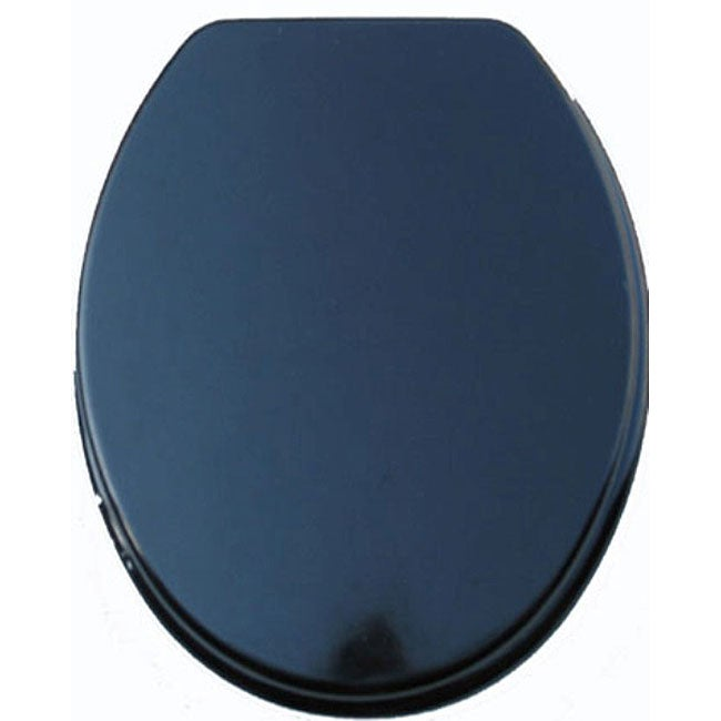 Black Molded Wood Solid Toilet Seat Overstock Shopping Big Discounts On T