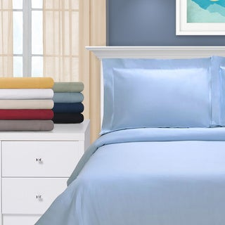 Egyptian Cotton 1200 Thread Count 3-piece Duvet Cover Set