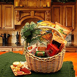 A Snackers Celebration Sweet/Savory Gourmet Food Gift Basket