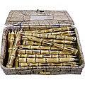 Set of 48 Box of Bamboo Pens (Vietnam)