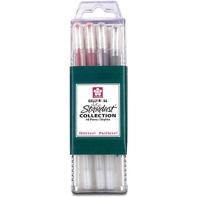 Sakura Stardust Gelly Roll Pens (Pack of 16)