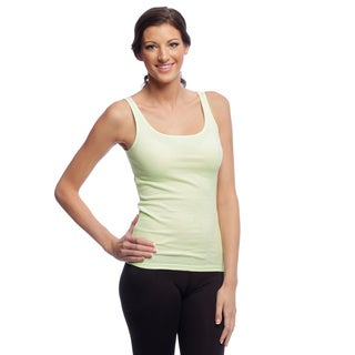 Yogacara Women's Ribbed Cotton Tank Top