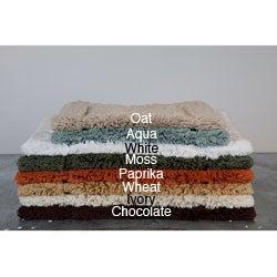 Egyptian Cotton Non-slip 18 x 25 Bath Rug