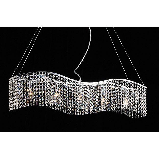 Crystal 5-light Chandelier