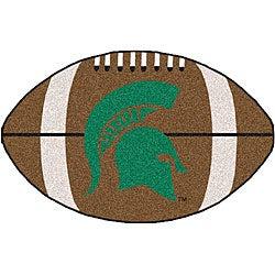 Fanmats NCAA Michigan State University 22x35 Football Mat