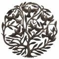 Metal 'Tree of Life' Oil Drum Art (Haiti)