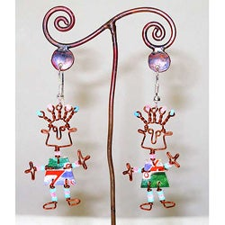 Recycled 'African Spirit' Earrings (Africa)