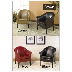Bicast Leather Club Chair