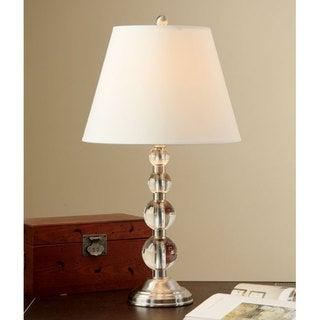 Crystal SpheresTable Lamp